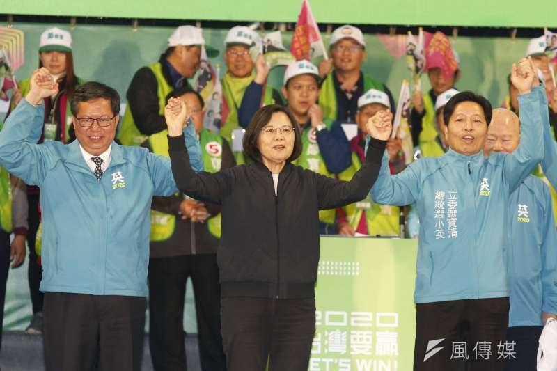 選民分裂投票可能影響民進黨選情。(新新聞,郭晉瑋攝)
