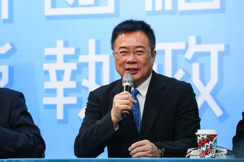 國民黨前立委蔡正元(見圖)譏諷行政院長蘇貞昌,領18萬軍隊擊敗300萬軍隊一定可以成為戰爭英雄。(資料照,顏麟宇攝)