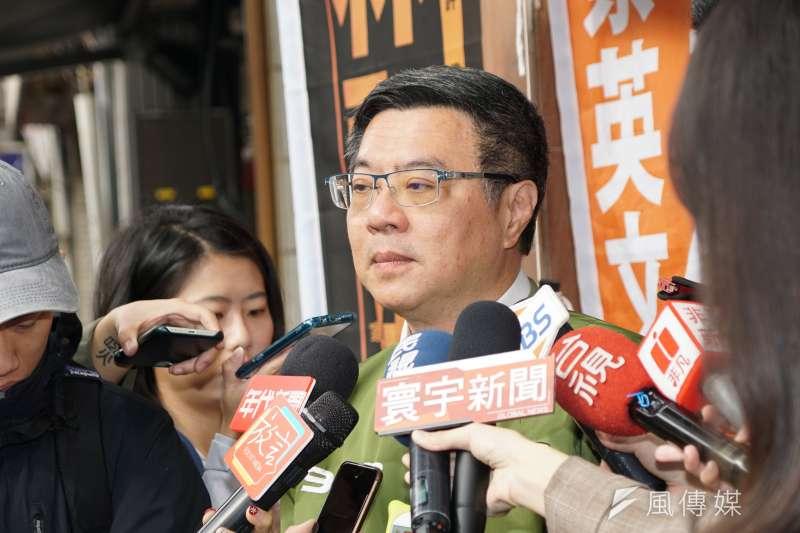 民進黨主席卓榮泰(見圖)30日晚間透過臉書發文悼念前行政院長郝柏村。(資料照,盧逸峰攝)
