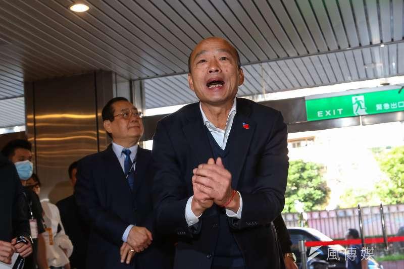 前高雄市長韓國瑜17日歡度63歲生日,並在臉書許下3個願望。(資料照,顏麟宇攝)