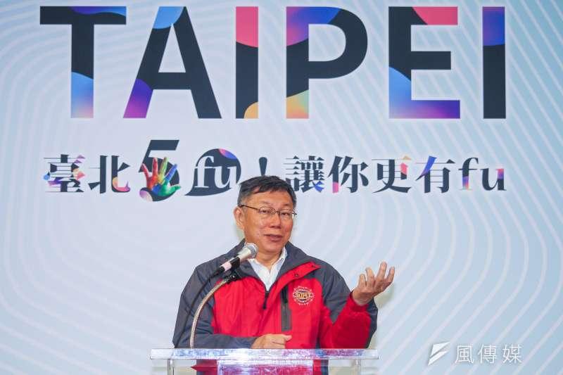針對「反滲透法」修法,台北市長柯文哲25日強調自己「沒有反對這法令」,但應講清楚如何執行。(蔡親傑攝)