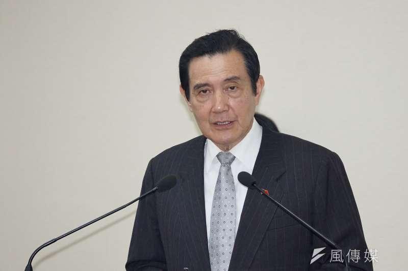 作者指出,前總統馬英九(見圖)自任總統期間到回歸平民,始終是為了自己的歷史定位而戰。(資料照,盧逸峰攝)