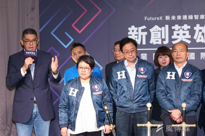 20191226-連勝文26日出席《新創英雄會》座談。(顏麟宇攝)