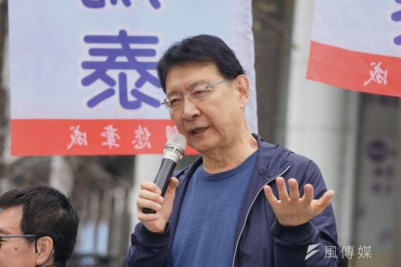 資深媒體人趙少康(見圖)表示,他早就說過搭乘大眾運輸工具要戴口罩,但先前若有人提出與政府不同的意見,就會被1450出征。(資料照,盧逸峰攝)