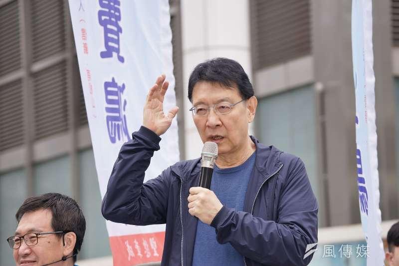 資深媒體人趙少康(見圖)批評衛福部長陳時中,「你做指揮官,不要輕易掉淚!」認為陳時中落淚會讓民眾覺得疫情很嚴重。(資料照,盧逸峰攝)