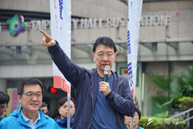 中廣董事長趙少康(見圖)重返國民黨,表態競選黨主席,並表示不排除2024總統大選。(資料照,盧逸峰攝)