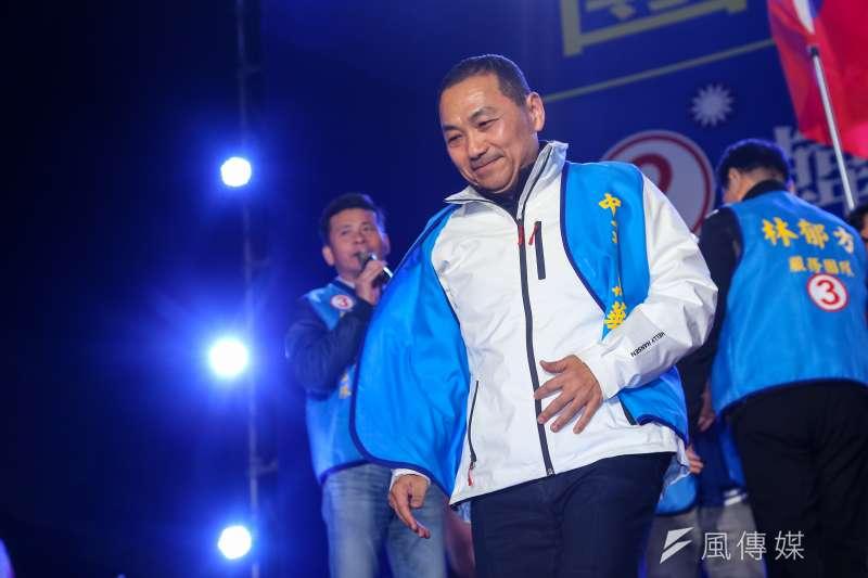 新北市長侯友宜成為藍營在北台灣的超強母雞。(資料照,顏麟宇攝)