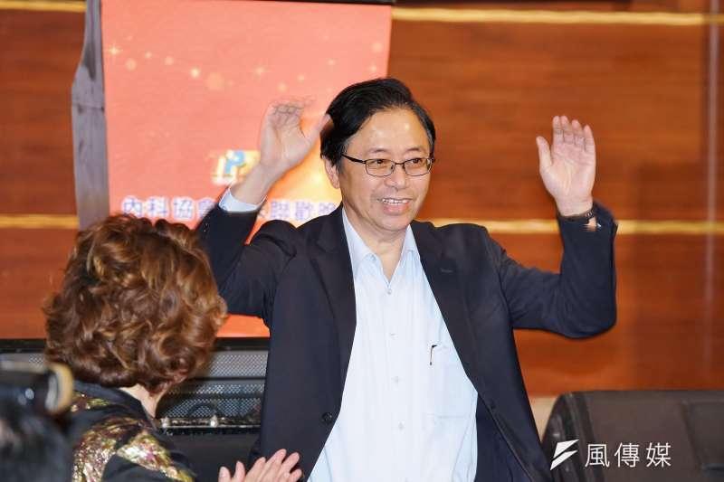 國民黨副總統候選人張善政日前公開表態挺傅崐萁。(資料照,盧逸峰攝)