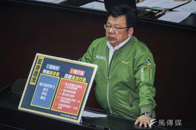 前民進黨立委李俊俋將擔任總統府副祕書長。(資料照片,蔡親傑攝)