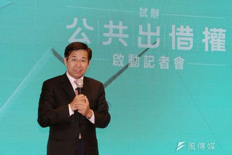 20191231-教育部長潘文忠31日出席「公共出借權」制度啟動記者會。(教育部提供)