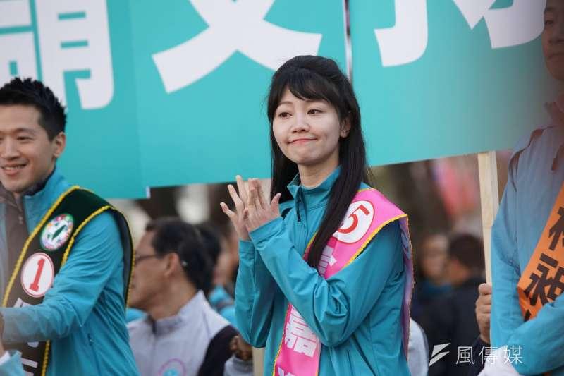 民進黨台北市第4選區立委高嘉瑜(見圖)這次選舉以7000票之差擊敗國民黨李彥秀。(資料照,盧逸峰攝)