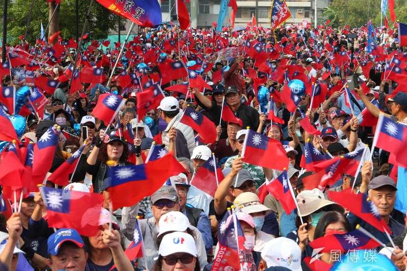 作者表示,人民作主,庶民起義,二零二零,台灣起飛,我們要把自己的國家,從那些貪婪惡毒的政客權貴手中,赢回來!(資料照,顏麟宇攝)