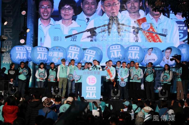 台灣民眾黨黨主席柯文哲(見圖)表示,他知道民進黨一向跟國軍關係不是很好,軍隊有10%不支持政府就很糟糕,更何況軍隊中支持執政黨的人少於10%,這才是國家的危機。(方炳超攝)