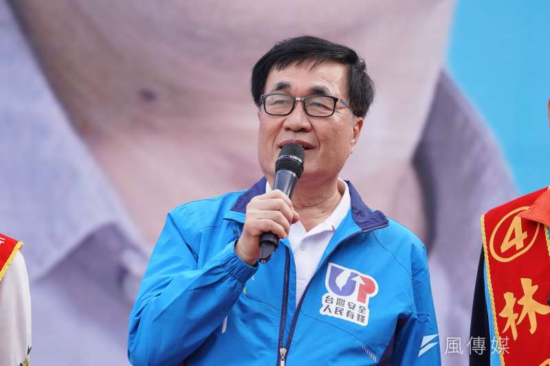 20200105-立委柯志恩5日舉行造勢活動,高雄市副市長李四川出席。(盧逸峰攝)