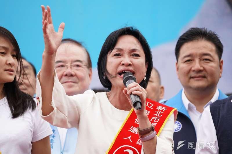 中華大學講座教授杜紫宸認為國民黨副祕書長柯志恩很適合投入高雄市長補選,和民進黨提名的陳其邁一決勝負。(資料照片,盧逸峰攝)