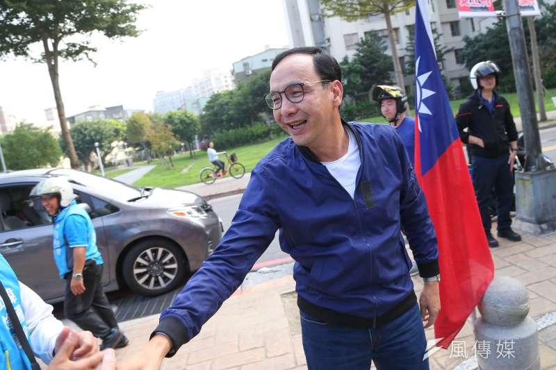 前新北市長朱立倫28日在臉書貼文表示,「改造一定有我,改選不必在我」,似乎是對國民黨主席改選表態。(資料照,顏麟宇攝)