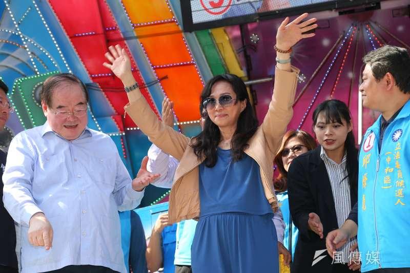 國民黨總統候選人韓國瑜太太李佳芬(見圖)6日澄清,自家學校絕對沒有用2萬3000元的薪水去聘請宿舍輔導老師。(顏麟宇攝)