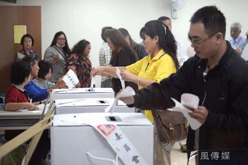 2020年總統大選將於本周六舉行,不少年輕人都準備趕車返鄉投票(資料照/甘岱民攝)