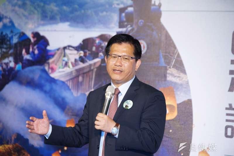交通部長林佳龍(見圖)表示,中國去年限制陸客自由行,反而讓台灣在這次的武漢肺炎疫情中因禍得福。(資料照,盧逸峰攝)