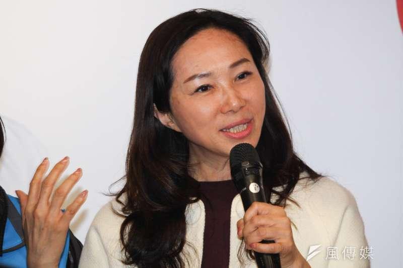 20200108-李佳芬8日出席國民黨立委參選人蔣萬安感恩見面茶會。(蔡親傑攝)