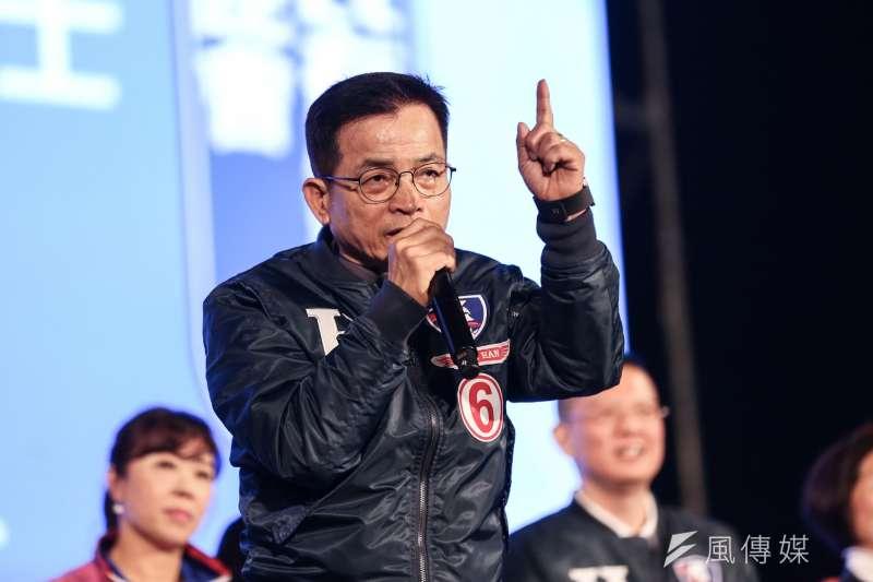 國民黨立委賴士葆(見圖)貼文稱「李文亮之死,不知會否喚醒民進黨高層的一點良知」。(資料照,簡必丞攝)