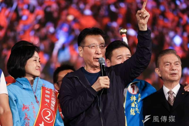 資深媒體人趙少康(見圖)表示,親民黨總統候選人宋楚瑜這次出來參選,最大目的是要保住親民黨立委,而不是為了宋楚瑜自己。(資料照,簡必丞攝)
