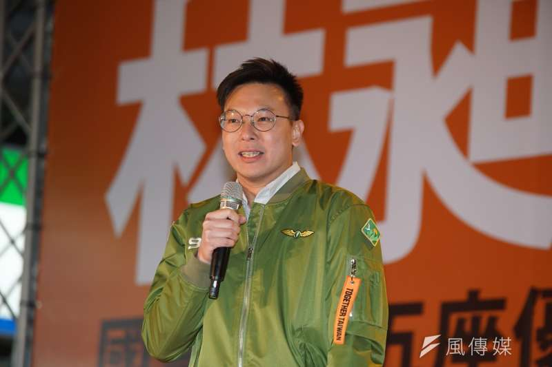民進黨副秘書長林飛帆表示,無論你回家是要投下「同意罷免」,還是「不同意」,明天高雄人做的決定都會寫下歷史。(資料照,盧逸峰攝)
