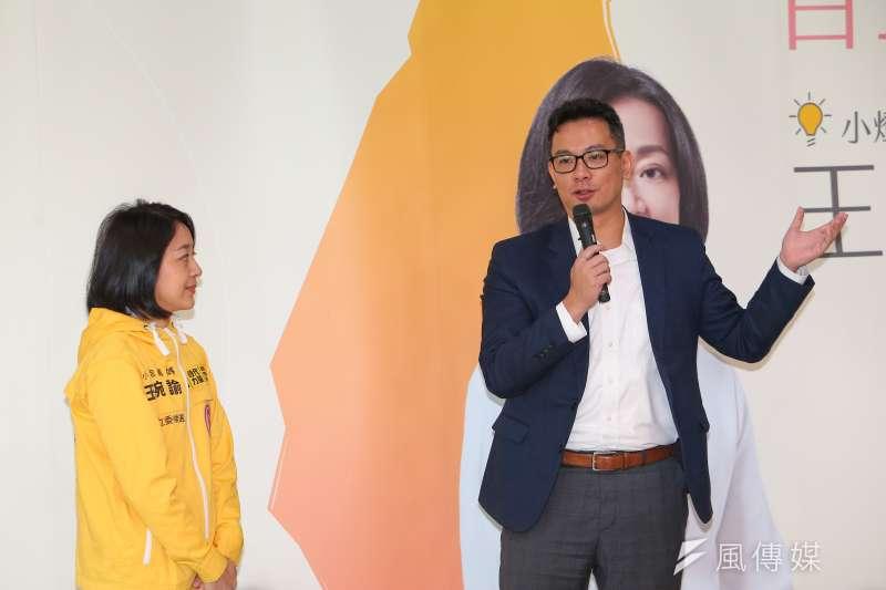 國家發展委員會諮詢委員戴季全(右)在臉書發文批評,最近的一系列匿名文章不但正在傷害民進黨和台派,更是正在破壞台灣的民主。圖為高雄市長韓國瑜支持者。(資料照,顏麟宇攝)