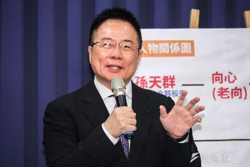 國民黨前副秘書長蔡正元(見圖)表示,國民黨若能在2022拿下台北市和桃園市就是大勝,而且台北市也有贏的機會,不應該輸。(資料照,蔡親傑攝)