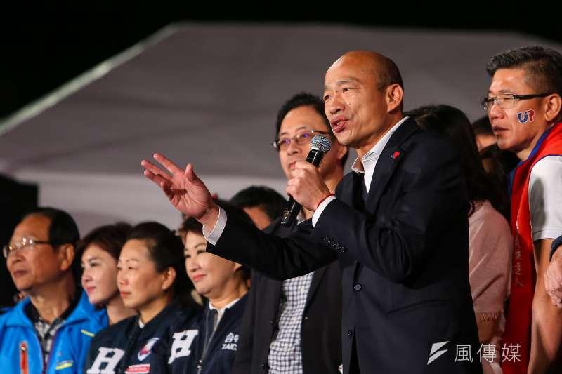 總統大選結束,韓國瑜大敗,高雄罷韓勢力來勢洶洶。(資料照片,顏麟宇攝)