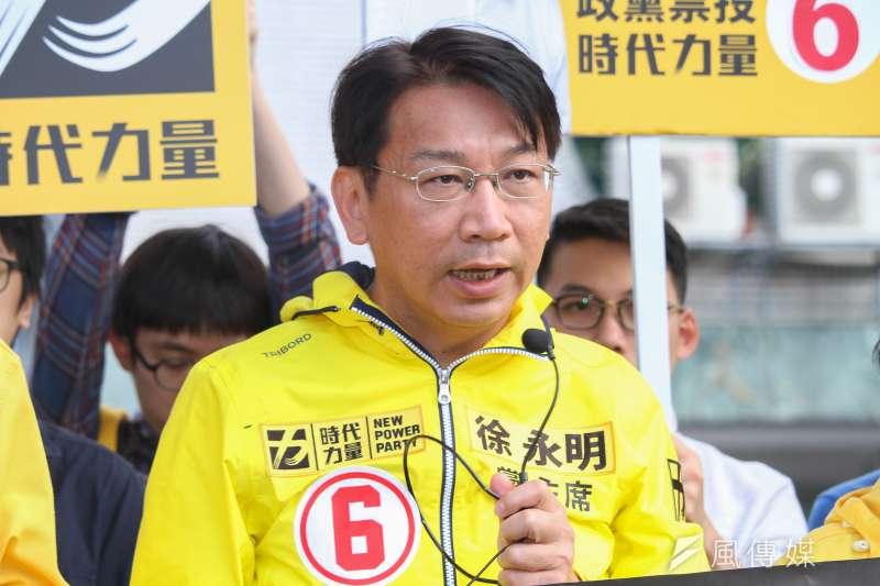 時代力量黨主席徐永明(見圖)指出,時代力量現在正致力於完備全台各地的地方經營,未來地方選舉也一定會「傾巢而出」。(資料照,蔡親傑攝)