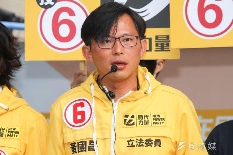 桃園市議員王浩宇指出,黃國昌曾要求時代力量「提名他選總統」。(資料照,蔡親傑攝)