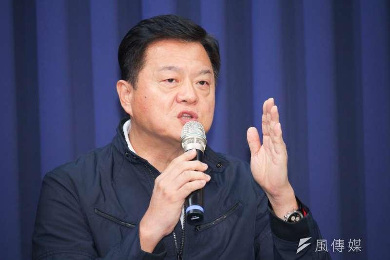 國民黨主席補選結果7日揭曉,前台北縣長周錫瑋8日在臉書表示看法。(資料照片,蔡親傑攝)