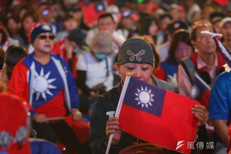 2020年總統大選結果11日揭曉,國民黨總統候選人韓國瑜從開票就一路落後,高雄競選總部外氣氛低迷。圖為韓國瑜競選總部現場。(顏麟宇攝)
