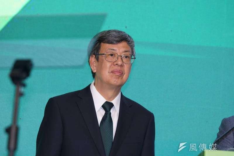 副總統陳建仁(見圖)直言,因應「冠狀病毒流感化」的演變,台灣應該要加強武漢肺炎防治藥物的研發與量產。(資料照,盧逸峰攝)