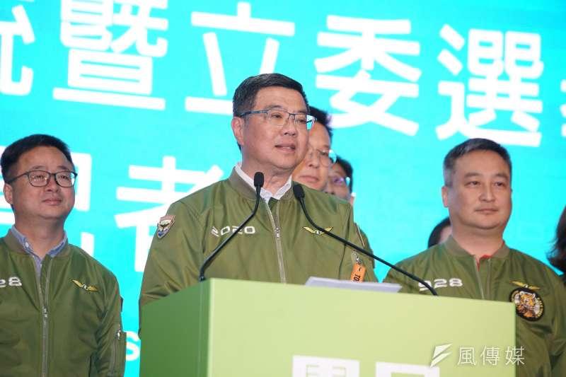 民進黨主席卓榮泰(見圖)向中國喊話,勿再操弄政治、以軍機威嚇台灣,或阻撓台灣參加國際防疫會議。(資料照,盧逸峰攝)