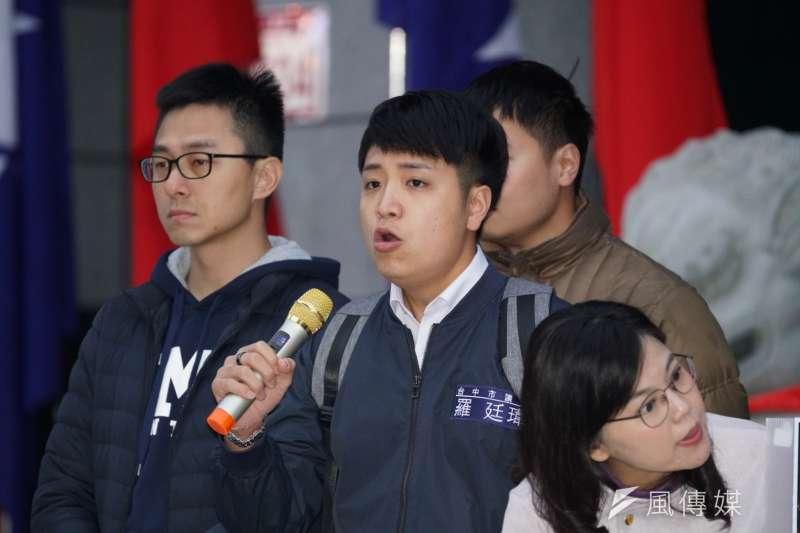 國民黨台中市議員羅廷瑋發起「罷免不分區立委辦法」,計畫淘汰不適任者,讓不分區立委更加貼近民意。(資料照,盧逸峰攝)