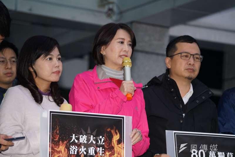 國民黨青壯派議員12日召開記者會呼籲黨內改革。(盧逸峰攝)