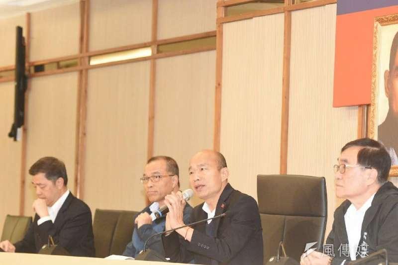 高雄市長韓國瑜去年春節赴峇里島出遊打麻將惹議,今年果斷決定不出國。(資料照,徐炳文攝)