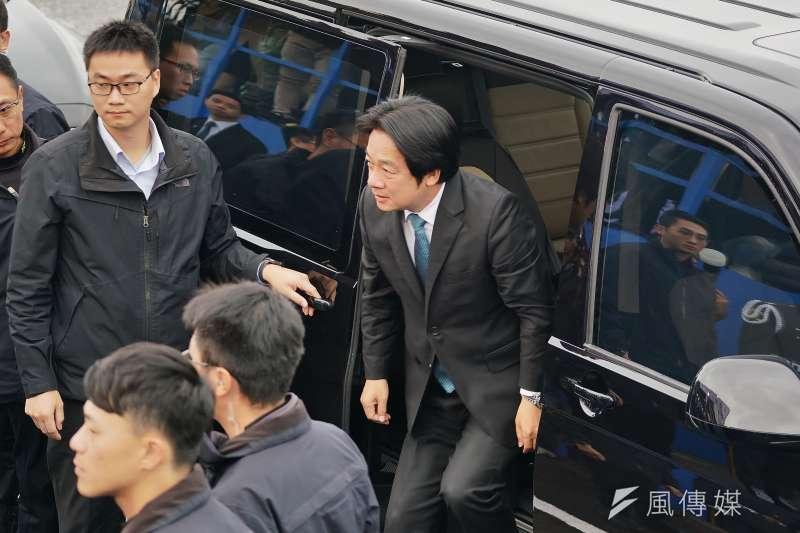 20200114-前行政院長賴清德14日出席國軍殉職將士聯合公奠典禮。(盧逸峰攝)