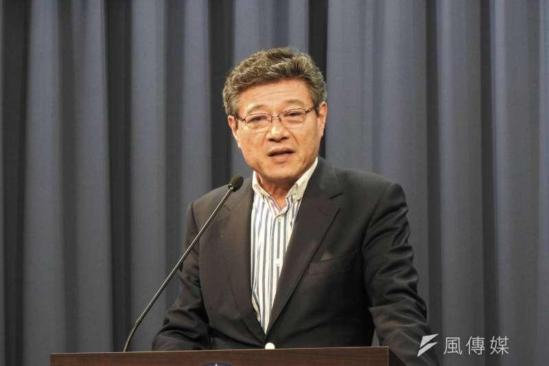 國民黨代理黨主席、中常委林榮德(見圖)表示,身為代理主席,任務是平穩地讓黨主席、中常委改選可以圓滿順利。(潘維庭攝)