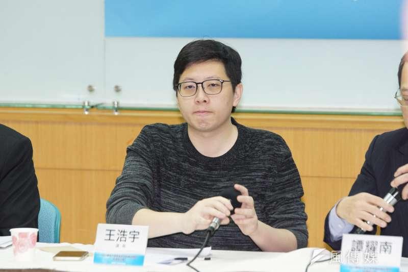 中選會今(20)日公告,桃園市議員王浩宇(見圖)罷免案正式成立,將在明年1月16日舉行投票。(資料照,盧逸峰攝)