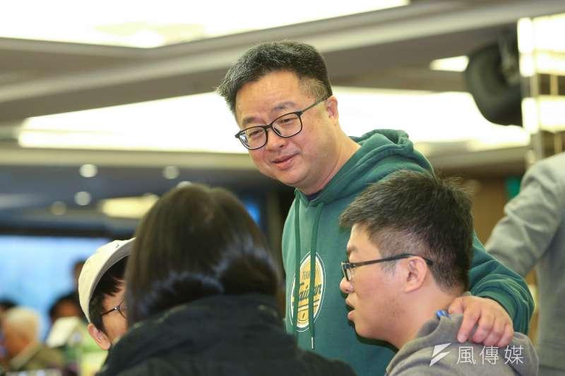 20200117-民進黨秘書長羅文嘉17日出席民主進步黨感恩餐會。(顏麟宇攝)