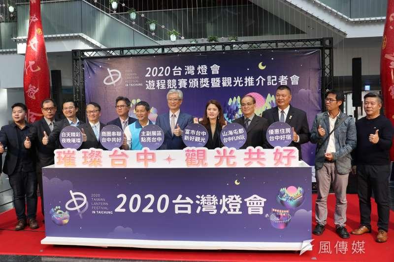 台中市觀旅局透過競賽廣邀年輕學生設計台灣燈會遊程,另外在地業者也配合推出各項優惠及住宿折扣。(圖/王秀禾攝)