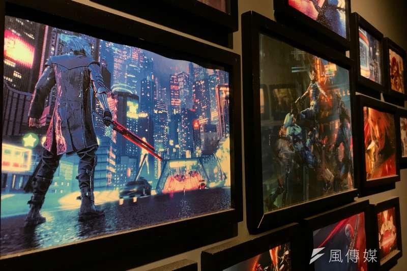 20200117-夢想動畫作品展示,最前為玩家共和國Republic of Gamers劇照。(吳尚軒攝)