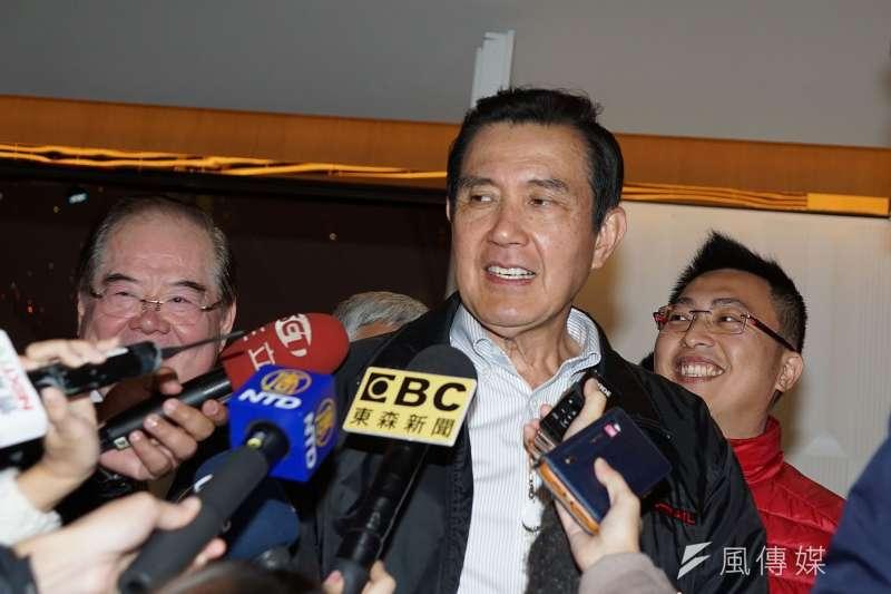 前總統府副秘書長、馬英九(見圖)基金會執行長蕭旭岑表示,外傳有「馬金聯手」、「馬系人馬」串聯介入立委傅崐萁恢復黨籍一案,都是編故事的無稽之談。(資料照,盧逸峰攝)