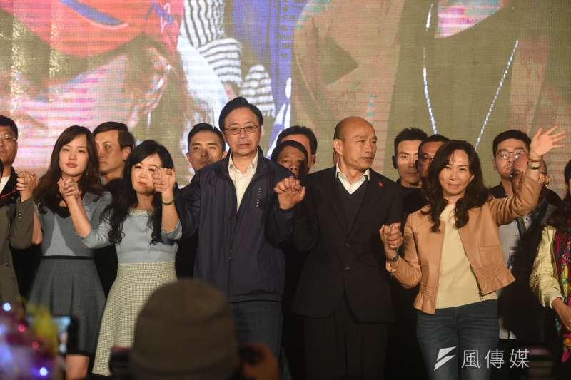 高雄市長韓國瑜參選2020總統大選鎩羽而歸,馬上要面對罷免之役。(圖/徐炳文攝)