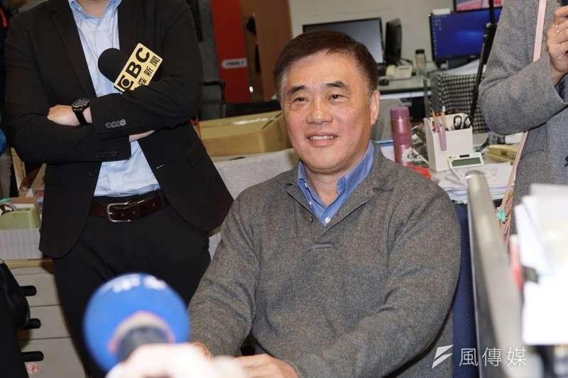 日前表態參選國民黨主席,前台北市長郝龍斌31日接受政論節目專訪。(資料照,盧逸峰攝)