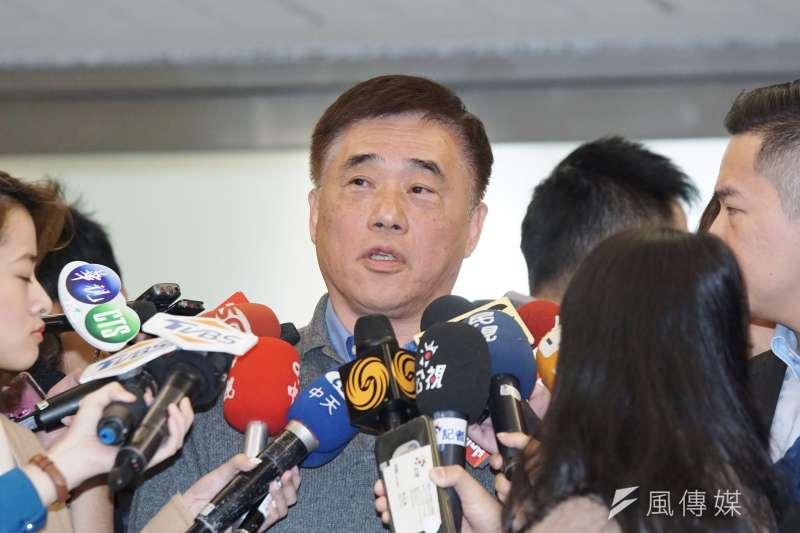 國民黨前副主席郝龍斌(見圖)日前表示,若大陸對於中華民國存在之事實沒善意回應,那「兩岸三通」可以中斷。(資料照,盧逸峰攝)
