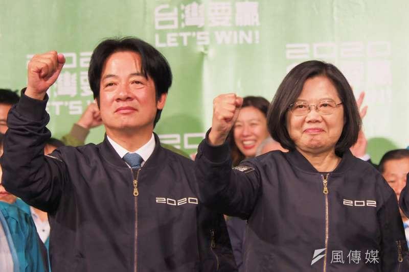 不少中國網民認為蔡英文勝選,和統無望,應實施武統。(林瑞慶攝)
